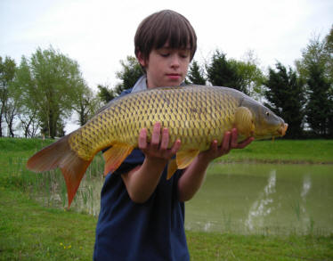 The best family carp fishing place in the Landes